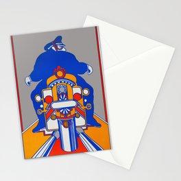 Orange Rider Stationery Cards