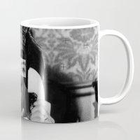 rocky horror Mugs featuring Rocky Horror Queen by Marko Köppe
