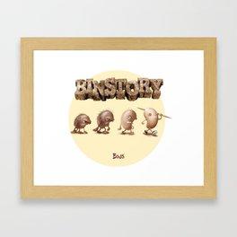 La Evolución Framed Art Print