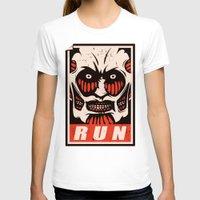 run T-shirts featuring Run by le.duc