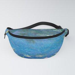 Claude Monet - Water Lilies Fanny Pack