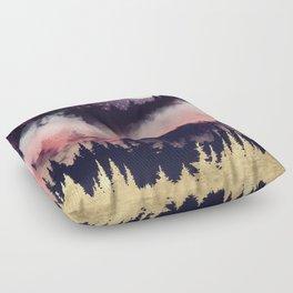Evening Glow Floor Pillow