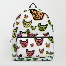 Rainbow Frenchies Backpack