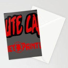 Absolute Carnage Logo Stationery Cards