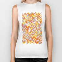 blanket Biker Tanks featuring Blanket by Tonya Doughty