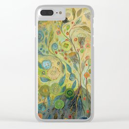 Embracing the Journey Clear iPhone Case