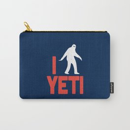 I heart Yeti Carry-All Pouch