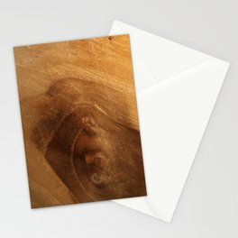 Wood Grain Wood Texture Stationery Cards