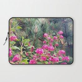 Spring Blooming Flowers Laptop Sleeve