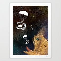 Media Control Art Print