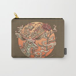 Deer Smoke & Indian Paintbrush Carry-All Pouch