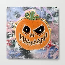 Gel pumpkin from hell v3 Metal Print