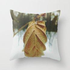 little wonders of winter Throw Pillow