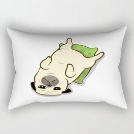 Relaxing at home Rectangular Pillow