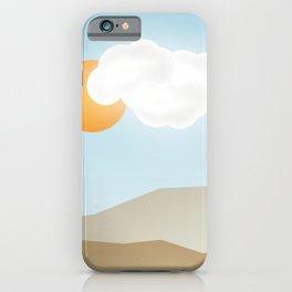 Beach Paradox iPhone Case