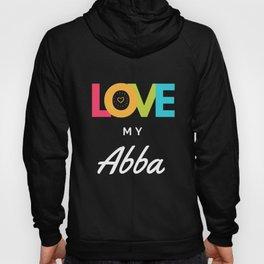 Love My Abba Grandparent Appreciation Hoody