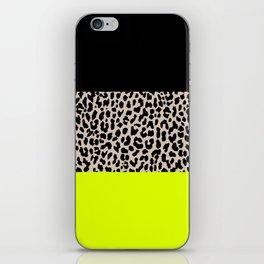 Leopard National Flag V iPhone Skin