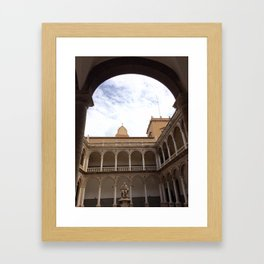 Heavenly Arches Framed Art Print