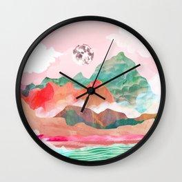 Moon Peak Wall Clock