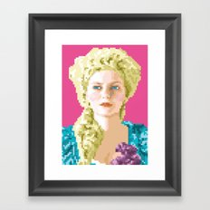 Sa majesté la reine Framed Art Print