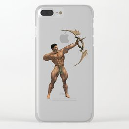Bow-Warrior 4600 x 3000 Clear iPhone Case