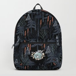 fairytale night forest Backpack