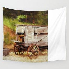 Chuck Wagon Wall Tapestry