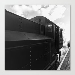Flying Pig 43106 in steam Canvas Print