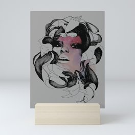 sea goddess Mini Art Print