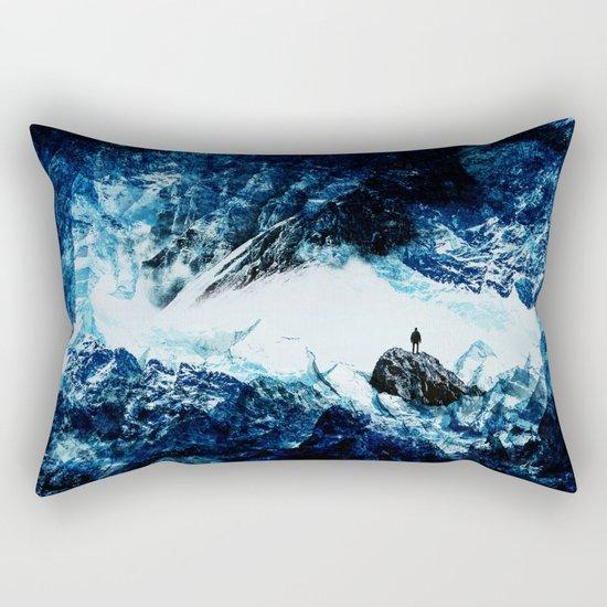 Frozen isolation Rectangular Pillow