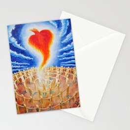 PHX Ascends, Spreading Love Like A Wildfire Stationery Cards