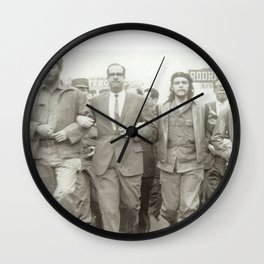 Che Guevara, Fidel Castro and Revolutionaries Wall Clock