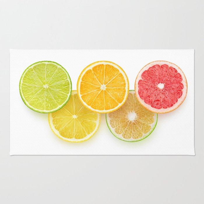 Citrus olympics Rug