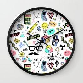 Geeky Chic Wall Clock