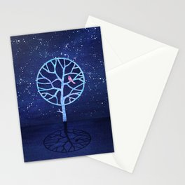Nightingale tree Stationery Cards