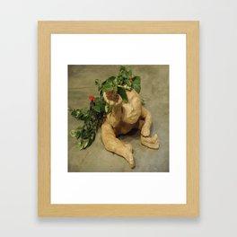 hope for a flower cherub 3 Framed Art Print
