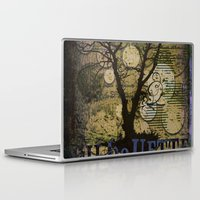 silhouette Laptop & iPad Skins featuring Silhouette by April Gann