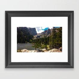 Dream Lake, Northern CO Framed Art Print