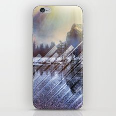 Winter Sun Rays Abstract Nature iPhone Skin