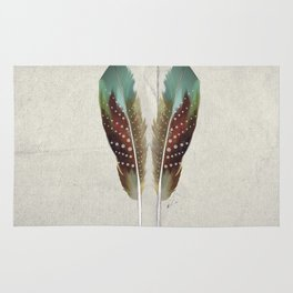 Two Feathers Rug