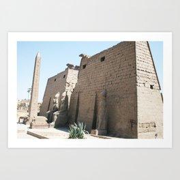 Temple of Luxor, no. 26 Art Print
