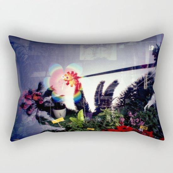 Urban double exposure Rectangular Pillow