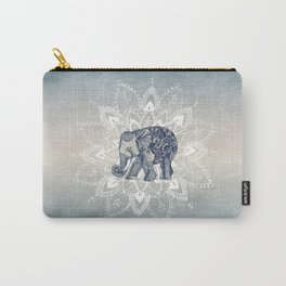 Elephant  Mandala Carry-All Pouch