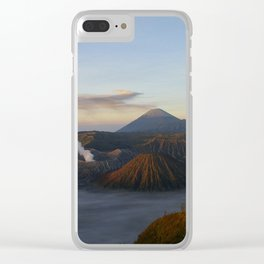 Sunrise Mount Bromo Tengger Semeru National Park  Indonesia Clear iPhone Case