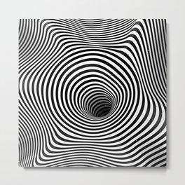 A hole Metal Print