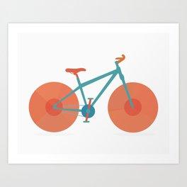 Ride Your Bike II Art Print