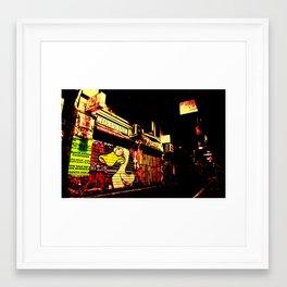 Under cover of darkness Framed Art Print
