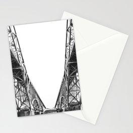 Peace Bridge On Lake Erie, Buffalo, New York, 2007 Stationery Cards