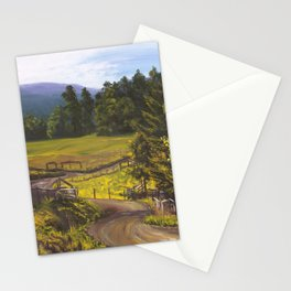 Lazy Winding Roads Stationery Cards
