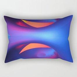 Reflective Moon Rectangular Pillow